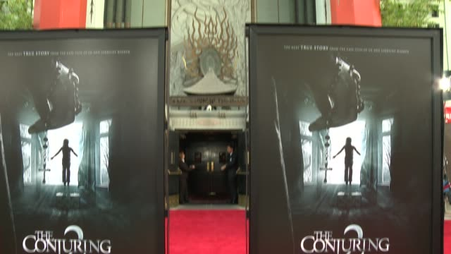 CLEAN The Conjuring 2 Los Angeles Premiere at TCL Chinese Theatre on June 07 2016 in Hollywood California