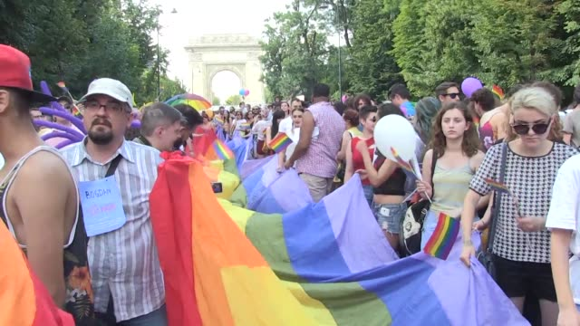 The Constitutional Court of Romania where gay marriage is banned considers whether to recognise the same sex union of a US Romanian couple who were...