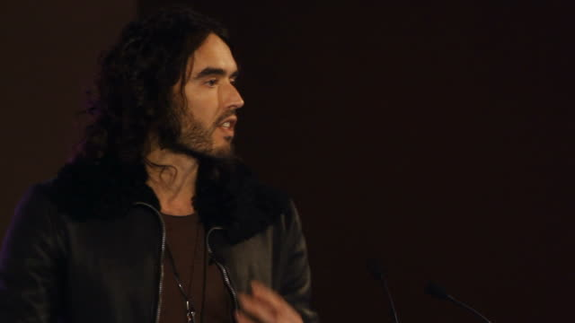 The controversial British comedian actor activist and recovering addict Russell Brand shares his thoughts on drugs addiction