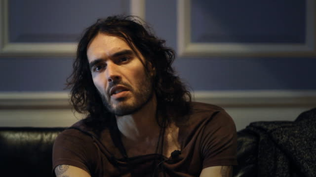 The controversial British comedian actor activist and recovering addict Russell Brand shares his own experiences with alcohol