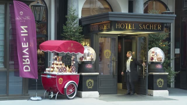 AUT: Iconic Vienna hotel turns to drive-in cake as pandemic bites