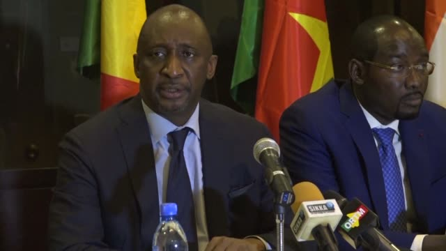 the countries belonging to the g5 sahel announced on monday in bamako the creation of a trust to handle the funds promised to their common anti... - g force stock videos & royalty-free footage