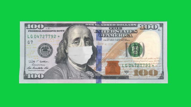 the covid-19 recession, global economic crisis, great depression, benjamin franklin on $100 bill upset, covid-19 pandemic, the collapse of markets, 4k stock video, stock market crash, - benjamin franklin stock videos & royalty-free footage