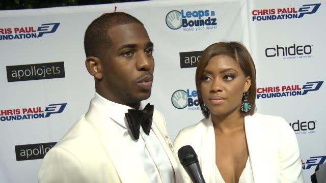 CHYRON The CP3 Foundation's Celebrity Server Dinner Hosted By Chris Paul Los Angeles CA