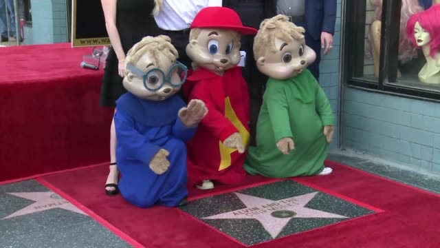 the creators of the iconic fictional singing chipmunk group alvin and the chipmunks celebrate four generations of fandom in 150 countries as they... - chipmunk stock videos & royalty-free footage