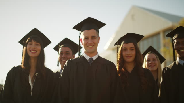 the culmination of all of our hard work - diploma stock videos & royalty-free footage