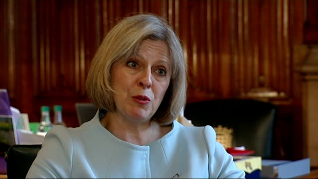 the inside story theresa may theresa may mp interview sot its not about picking at the edges its about a proper assessment of what we do how we do it... - cut video transition stock videos & royalty-free footage
