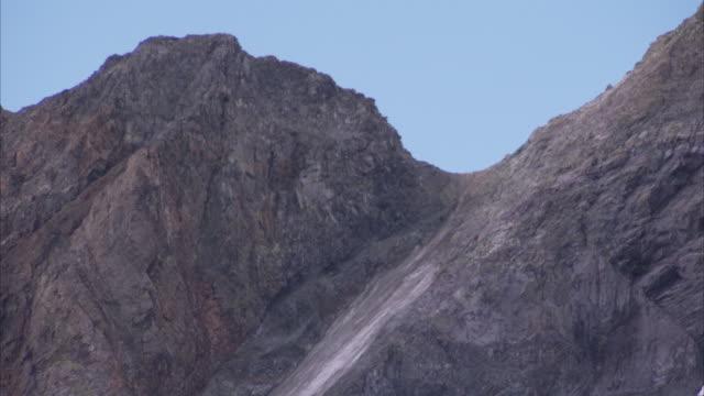 The Dana Glacier covers part of Yosemite National Park in California.