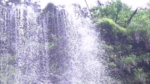 the dangyo falls - shimane prefecture stock videos & royalty-free footage