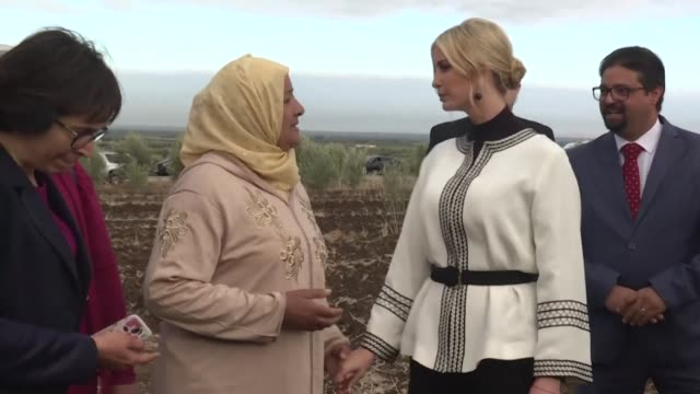 the daughter and advisor of us president donald trump ivanka trump meets with beneficiaries of the millennium challenge corporation program in an... - beneficiary stock videos & royalty-free footage