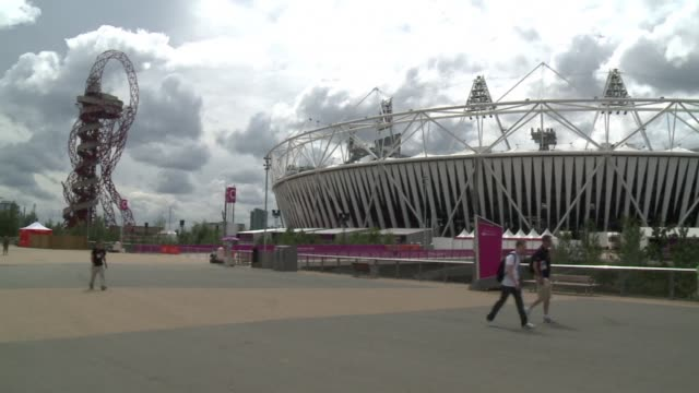 The day after the closing ceremony of the Olympic Games the Olympic Park is eerily silent while workers begin to prepare venues for the Paralympics...