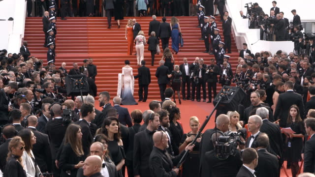 slomo atmosphere 'the dead don't die' red carpet arrivals opening ceremony the 72nd cannes film festival on may 14 2019 in cannes france - the dead don't die 2019 film stock videos and b-roll footage