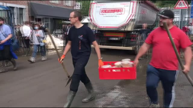 the death toll from floods in belgium rose to 27 on saturday as a result of continuous rains since july 14, according to local media. belgian prime... - infinity stock videos & royalty-free footage