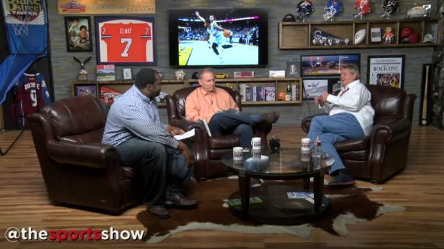 the denver post's hugh johnson joins woody paige and les shapiro on the sports show to discuss the hottest topics in the world of sports on oct. 28,... - talk show stock videos & royalty-free footage