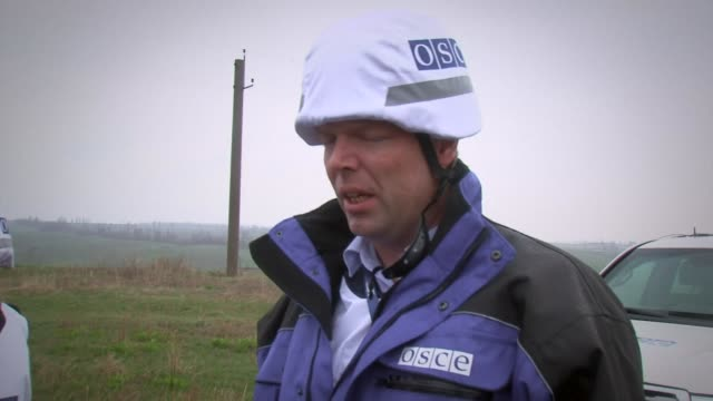 The Deputy Chief monitor of the OSCE mission in Ukraine visited Shyrokyne in eastern Ukraine Tuesday after six soldiers were killed and a journalist...