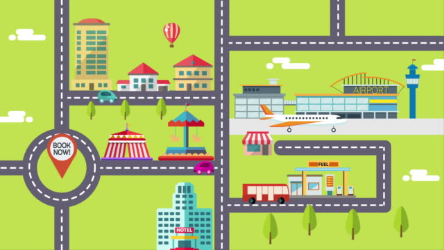 the description of city life infographic - illustration stock videos & royalty-free footage