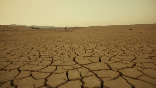 the desert at middle east - drought stock videos & royalty-free footage