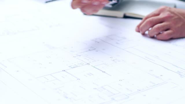 die details machen das design - grundriss stock-videos und b-roll-filmmaterial