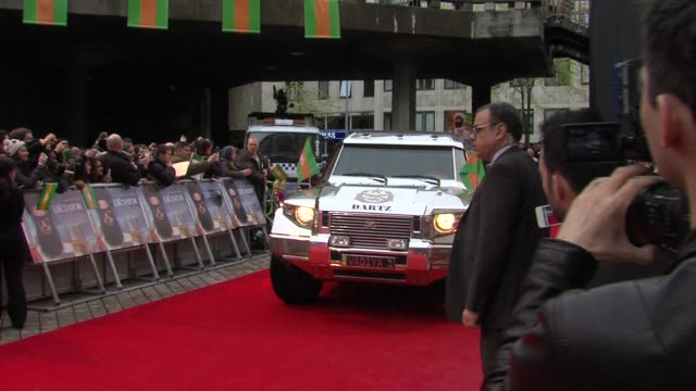 The Dictator World Premiere at the Royal Festival Hall on May 10 2012 in London England