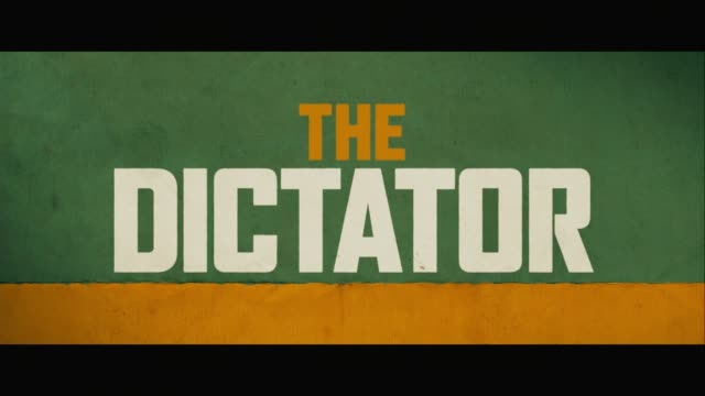 the dictator world premiere at the royal festival hall on may 10 2012 in london england - dictator stock videos and b-roll footage