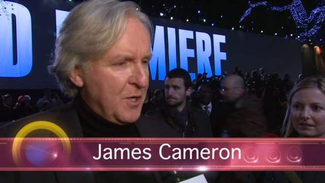 the director and stars of the highly anticipated live-action film avatar were in londonõs leicester square for the world premiere of james cameronõs... - epic film stock videos & royalty-free footage