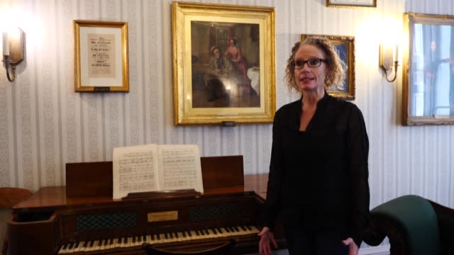 the director of the charles dickens museum, cindy sughrue obe, says attendance of the london museum 'wobbles' with every new virus restriction - charles dickens stock videos & royalty-free footage