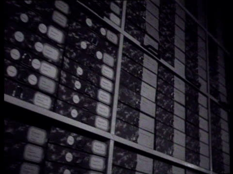 the director of the national institute for war documentation lou de jong explains the tasks and procedures of the institute his explanation is... - archives stock videos & royalty-free footage