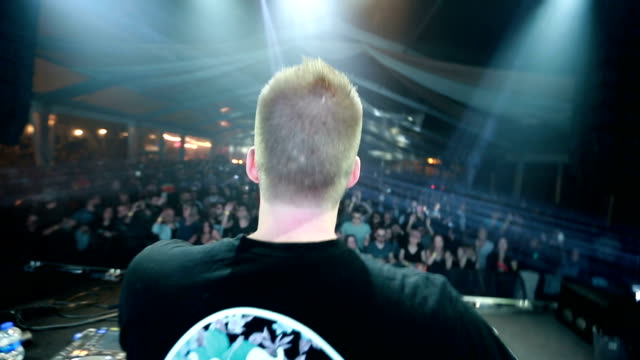 the dj at concert - dj stock videos & royalty-free footage