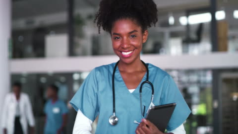 the doctor life is so fulfilling - female doctor stock videos & royalty-free footage