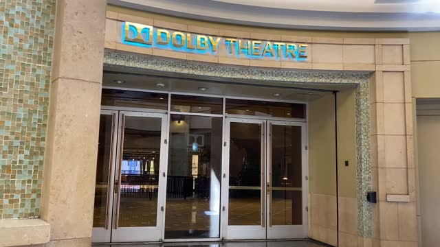 """the dolby theatre is prepared for the 93rd annual academy awards on april 19, 2021 in los angeles, california. """" - the dolby theatre stock videos & royalty-free footage"""