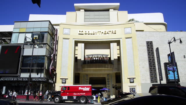 stockvideo's en b-roll-footage met the dolby theatre - dolby theatre
