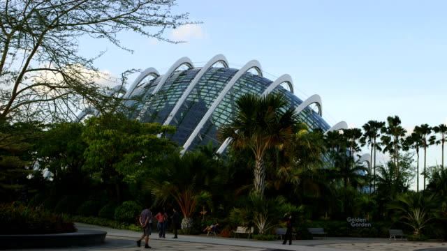 The dome at Gardens by the bay