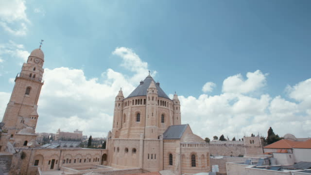 The dormition Abbey in old city Jerusalem