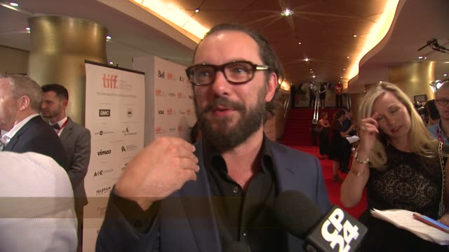 chyron the drop premiere toronto international film festival 2014 at princess of wales theatre on september 05 2014 in toronto canada - toronto international film festival stock videos and b-roll footage