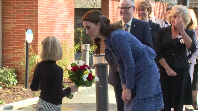 The Duchess of Cambridge at Ronald McDonald House Evelina London on February 28 2017 in London England