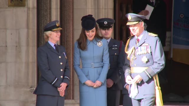 The Duchess of Cambridge at the Royal Courts of Justice on February 07 2016 in London England