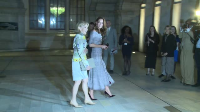The Duchess of Cambridge at The VA on October 10 2018 in London England