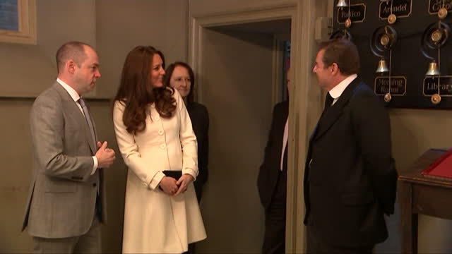 The Duchess of Cambridge became the Duchess of Downton today as she visited the set of the awardwinning period drama She met some of the stars of the...