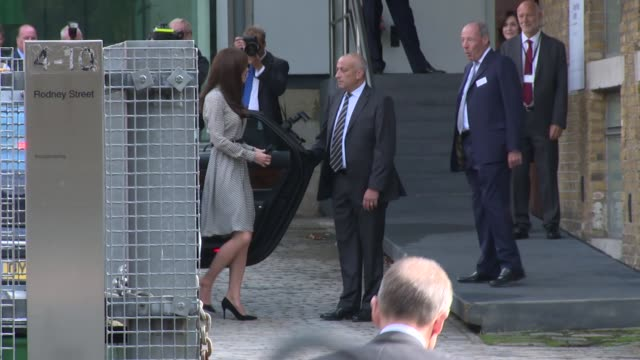 the duchess of cambridge on september 17 2015 in london england - fringe stock videos & royalty-free footage