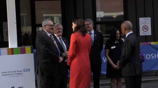 The Duchess of Cambridge visits Great Ormond Street Hospital to open the latest phase in the institution's ambitious redevelopment project Kate meets...