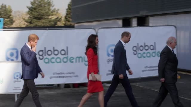 The Duke and Duchess of Cambridge and Prince Harry are to officially open an academy school in support of their mental health initiative Heads...
