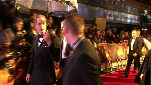 the duke and duchess of cambridge attended the premiere of steven spielberg's new film war horsethese pictures contain flash photography alongside... - steven spielberg stock videos & royalty-free footage