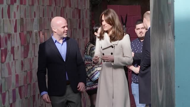 the duke and duchess of cambridge visit jigsaw, a youth mental health charity in the temble bar district of dublin, on the second day of their royal... - mental health stock videos & royalty-free footage