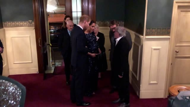 the duke and duchess of sussex are at the royal albert hall to watch cirque du soleil performers displaying their acrobatic skills in aid of charity... - cirque du soleil stock videos & royalty-free footage