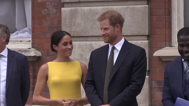 the duke and duchess of sussex have confirmed to queen that they will not be returning as working members of the royal family, buckingham palace said. - prince harry stock videos & royalty-free footage