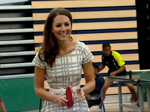 the duke duchess of cambridge and prince harry were doing their bit for sport launching a programme which aims to train the next generation of sports... - 2012 stock videos & royalty-free footage