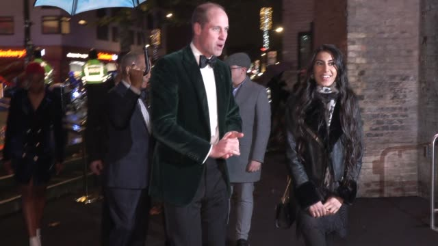 GBR: The Duke of Cambridge marks Centrepoint's 50th Anniversary