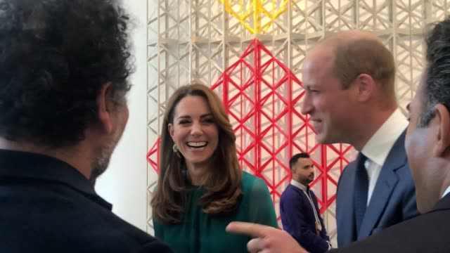 the duke of cambridge has revealed he is wary of spicy food ahead of he and the duchess of cambridge's official visit to pakistan later this month... - imam stock videos & royalty-free footage