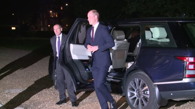 the duke of cambridge on october 12 2016 in london england - herzog von cambridge stock-videos und b-roll-filmmaterial