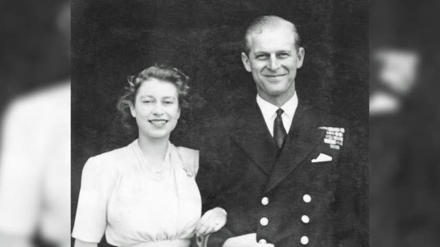 stockvideo's en b-roll-footage met the duke of edinburgh celebrates his 99th birthday with the release of an official photograph marking the milestone the pa news agency looks back at... - koningin koninklijk persoon